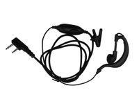 Wholesale New Hot Sale Pin PTT MIC Ear Hook Earpiece Headset for Walkie Talkie for WOUXUN HYT TYT KENWOOD ICOM YAESU KIRISUN BAOFENG Radio