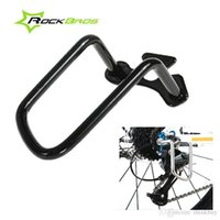 Wholesale New ROCKBROS Cycling MTB Road Bike Folding Bicycle Mech Rear Derailleur Protector Tutamen Black White