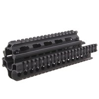 saiga - Funpowerland High quality AKs Saiga X39 Tactical Picatinny Handguard Quad Rail System Mount SG39 Free x Rubber Covers