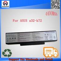 asus battery pack - 11 V mah original laptop battery pack for asus a32 k72 A32 N71 A72 K72 K73 N71 N73 X73 X77 Series