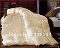 Wholesale Sales promotion White duck Down Alternative Comforter king with Corner Tab