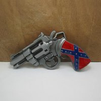 Wholesale Rebel Confederate Flag Belt Buckle