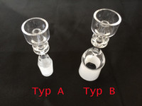 Wholesale Domeless Quartz Nail with Female Male joint mm mm Quartz Nail For Glass Bongs Glass Pipes