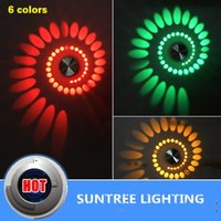 Wholesale 85 V multicolor V LED Modern Aluminum Lighting Indoor Wall Lamp KTV Decorate Lights Lamps Luminaire Livingroom