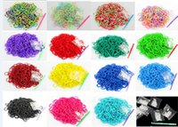 Cheap Better Quality 13 Colors Loom Bands Looms Colar Rubber Bands Loom Bracelets (300 Bands+12 S-Clips+1 hook Pack)