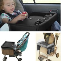Wholesale Fashion New Car Child Safety Seat Play Snack Kid Baby Car Seat Safety Travel Stroller Painting Draw Tray