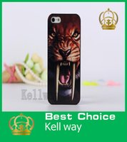 3d iphone 4 case - For iPhone G S Animal Series tiger leopard wolf Hound Case D stereo PC plastics Hard case For iPhone G S