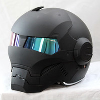 Wholesale MASEI casco IRONMAN Protective Gears child star Mary Iron Man moto helmet capacete motorcycle helmet full face retro helmets