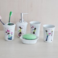 Wholesale Ceramic sanitary ware bathroom wash Wujiantao couple suits for men and women love gifts gift