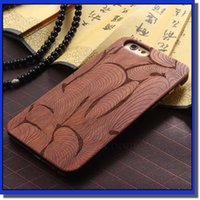 wooden case - Wooden Case Natural Cover Wood Slice Durable Plastic shell with texture for choose post free