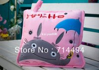 air doll - Hayao Miyazaki Totoro pillow air conditioning quilt plush toy doll cushion and pillow dual purpose