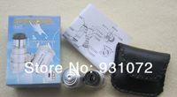 Wholesale Free FedEx shipipng Pocket LED X Magnifier Microscope X Mini Loupes Magnifiers Microscopes w LED Light