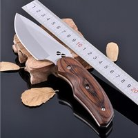 Wholesale Knife Hunting Knives Outdoor survival Knife RHC silver color camping knives