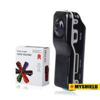 Wholesale MD80 Mini DV Camcorder DVR Video Camera Webcam Support GB HD Cam Sports Helmet Bike Motorbike Camera Video Audio Recorder