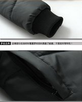 Wholesale Men s clothing han edition urban men s men s fashion feather fall clothing manufacturers selling cotton quilted jacket coat
