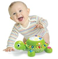 baby pet turtles - Baby Early Education Toy Crawling Little Turtle Baby Electronic Animal Pet Toy With Lights Sounds