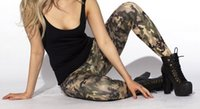 army digital camo pants - HOT SEXY Army leggings New Shiny Milk Women Fashion Clothing OEM Digital Print Pants Trousers Camo Leggings S106