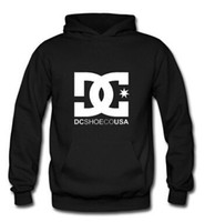 hip hop clothing - Male and female winter sweater hoodie classic hip hop BBOY DC skate team pulley clothes