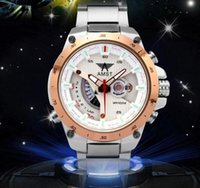 ai rounding - Authentic AMST ai from France business men and women watch waterproof calendar watch watch military watches