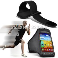 beam covers - Multiple Colors Sport Armband case cover For Samsung Galaxy Beam G3858 Sports Bag With Free Stylus Pen