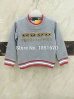 base brand clothing - autumn new children s clothing for boys and Italian brand sweater round neck pullover cotton high quality base warm