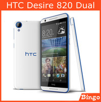 Wholesale HTC Desire Dual original Unlocked Mobile Phone quot Quad Core GB RAM GB ROM quot MP Dual sim G G dropshipping