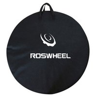 Wholesale ROSWHEEL MTB Road Mountain Bike Bicyle Wheel Bag cm quot C Cycling Single Wheel Pack Transport Carrier Carry Holder Bag