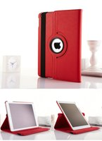 Wholesale For ipad air mini Degree Rotating Rotary PU Leather Case Smart Cover Cases Stand tablet pc