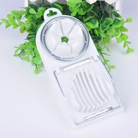 Wholesale New Convenient Cutting Tool Egg Slicer Popular Stainless Steel Egg Tools Egg Cutter Kitchen Accessories X60 JJ0271W S1