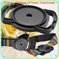 Wholesale Camera Lens Cap Holder Keeper To mm mm mm Universal Len Cover For Nikon Canon Sony NEX With Tracking NO