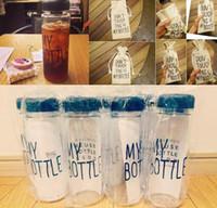plastic water bottle sports - Water bottle plastic sports water bottle bike garrafa water bottle