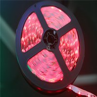 Wholesale m LED SMD3528 V Flexible Light led m LED Strip Red Color lighting neon wedding decoration christmas decorations luz