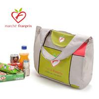 Wholesale Tote bags candy colors Waterproof reusable shopping bag Portable folding pouch lunch bag purse handbag