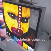 backlit fabric - Wall LED Backlit Frameless Fabric LED Light Box for LED Customized Wall Mounted Fabric Light Box