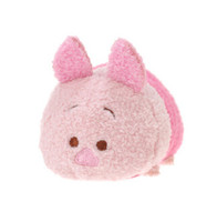Wholesale Tsum Tsum plush toy piglet toys carton light year dale stich goofy Mobile Screen Cleaner Key Chain Bag Hanger for Mobile Phone