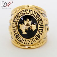Cheap Free shipping 2014 fashion wholesale sport Ring Team Canada 1985 World Hockey Championship Ring for men ring size 11,CR-20154