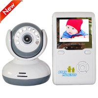 Rechargeable Battery baby safety kit - 2015 Digital LCD Baby Video Monitor Kits GHz Baba Wireless Night Vision Nanny Way Talking Intercom monitors Safety for Kids