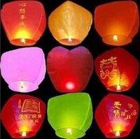 lanternes en forme de coeur lanternes gros usine flamme directe lanternes en papier ignifuge