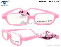 Wholesale pieces Price Fashion Safer Flexible New Material Fiber Glass Children Optical Frames