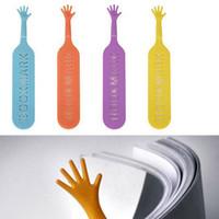 Wholesale 2016 new Bookmarks Wedding Supplies Help Me Colorful Bookmarks pens finger bookmarks Wedding Supplies