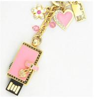 Wholesale New design Fashion purse with heart shape Jewelry USB stick GB GB GB USB Flash drive USB sticks pendrives