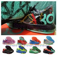 Wholesale 2014 Kevin Durant Kd Mens Basketball Kd6 Shoes With Tick Swoosh colors