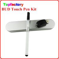 vape pen - 510 thread CBD Oil Atomizer Cartridge Bud Touch Vaporizer Vape Pen kit E Cigartte O Pen Individual PP Tube Pack Top Seller