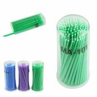 Wholesale Multifunction Eyelash Extension Micro Brushes Disposable Individual Applicators Mascara Best Deal Make Up Cotton Stick