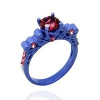 Cheap Couple Rings black gold rings Best romantic and elegant Unisex women rings