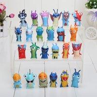 Wholesale 24pcs set Anime Cartoon cm Mini Slugterra PVC Action Figures Toys Dolls Child Toys