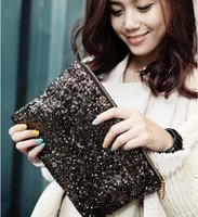 Wholesale HOT New Dazzling Glitter Sparkling Bling Bling Sequins ladies evening party purse bags handbags for womens clutch wallets colors