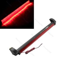 Wholesale 2pcs New Red LED Vehicle Car Auto Fog Stop Tail Rear Warning Brake Light Lamp V