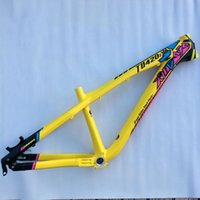 Wholesale best selling kinesis aluminium alloy dj x street slope style hardtail bike frame TD420s size quot quot