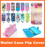 Cheap For Samsung Galaxy Note 4 3 S5 Painting Print Wallet Flip Leather Case for S5 Mini S4 S4 Mini S3 S3 Mini with Credit Card Slot Stand Holder